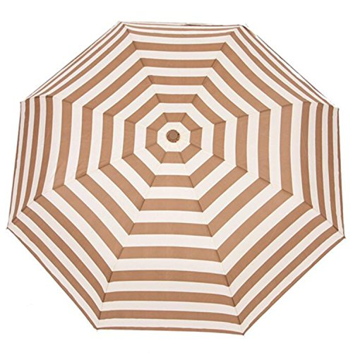 Umbrella 8 Rib Automatic Windproof Rain Anti-uv Sun Fashioanble &good Looking, Smooth Surface. Exquisite Cap, Keep The More Stable. (brown)