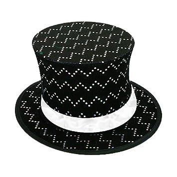 343678d2fa8f Chapeau Claque Double Fond (Noir)  Amazon.fr  Jeux et Jouets