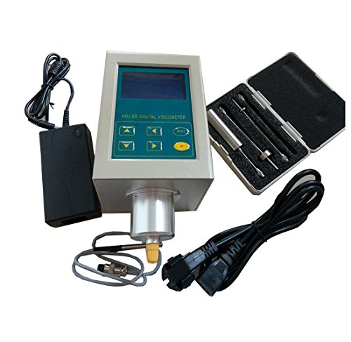 Digital Rotary Viscometer Viscosity Tester Meter NDJ-9S Rotational Viscosity Measuring with LCD Temperature Display Function: Amazon.com: Industrial & ...