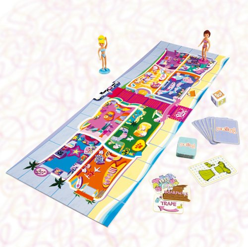 Mattel - Fashion Polly Board Game, 2 - 4 Spieler