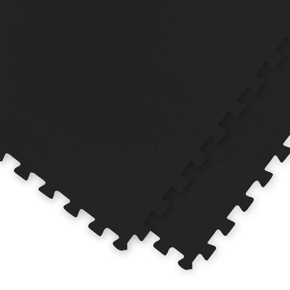 【公式ショップ】 【 超極厚 ノンホル 20mm】 ノンホル 『 やさしいジョイントマット 』 8畳 36枚 黒 (36枚入) 大判【 本体 ラージサイズ(60cm) ブラック 黒】 床暖房対応 防音 本体 36枚 ブラック B07PYVZ4QN, カタシナムラ:9d5bc901 --- outdev.net