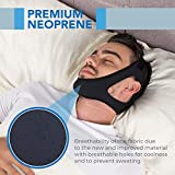 Sleep Legends Premium Anti Snoring Chin Strap