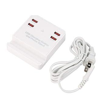 SMBYQ Estación de Carga USB Inteligente portátil de 4 ...