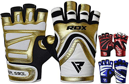 RDX Gym Weight Lifting Gloves Workout Fitness Bodybuilding Competition Powerlifting Exercise Wrist Support Strength Training