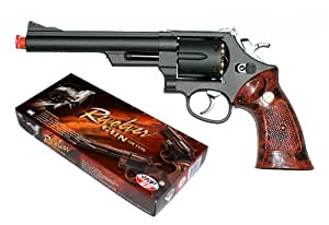 TSD Sports UG132 6 Inch Gas Powered Non-Blowback Airsoft Revolver (Black)