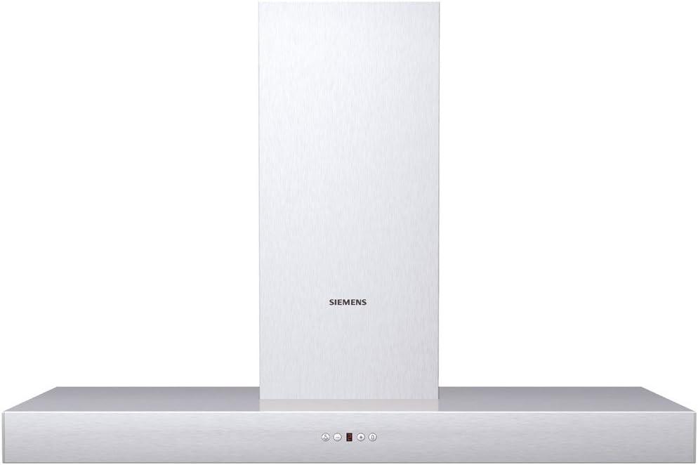 Siemens LC46256 - Campana (Canalizado/Recirculación, 640 m³/h, 69 Db, Montado en pared, Halógeno, Acero inoxidable): Amazon.es: Hogar