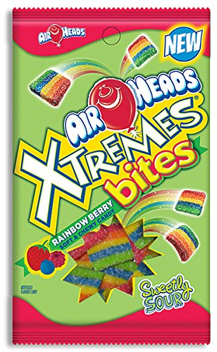 AIRHEADS XTREMES BITES - RAINBOW BERRY (Pack of 10)