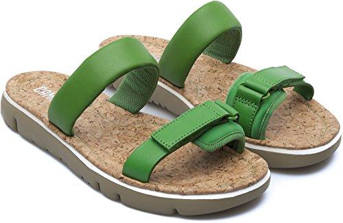Camper Oruga K200124-005 Sandalias Mujer Verde