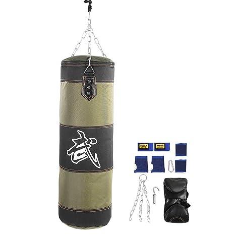 Amazon alomejor heavy boxing punching bag,thai home gym
