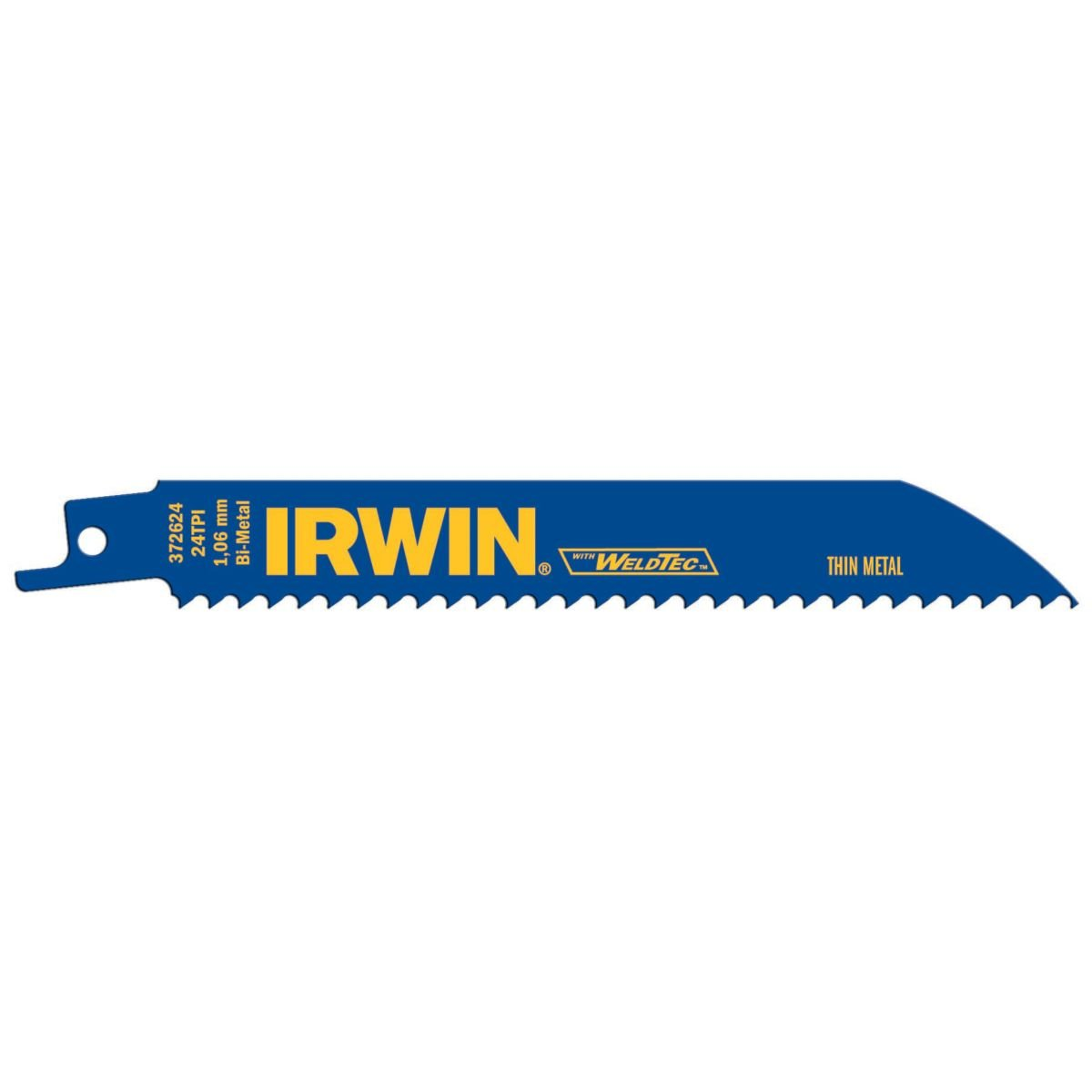 Irwin tools reciprocating saw blade metal cutting 6 inch 14 tpi irwin tools reciprocating saw blade metal cutting 6 inch 14 tpi 372614b reciprocating saw blades amazon greentooth Gallery