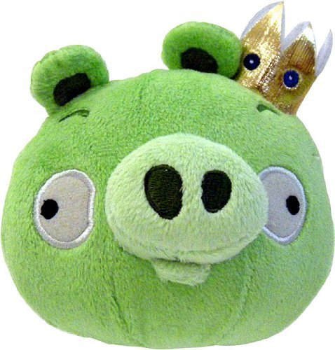 "Angry Birds 8"" Inches Official Licensed Animal Plush Toy Kin"