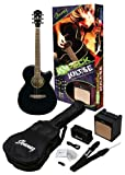 Ibanez IJAE5 JamPack Jolt/SE Acoustic-Electric Guitar Pack Black