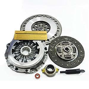 exedy Kit de embrague + 4140 cromo-molibdeno volante para 2002 - 2005 Subaru Impreza WRX EJ205: Amazon.es: Coche y moto