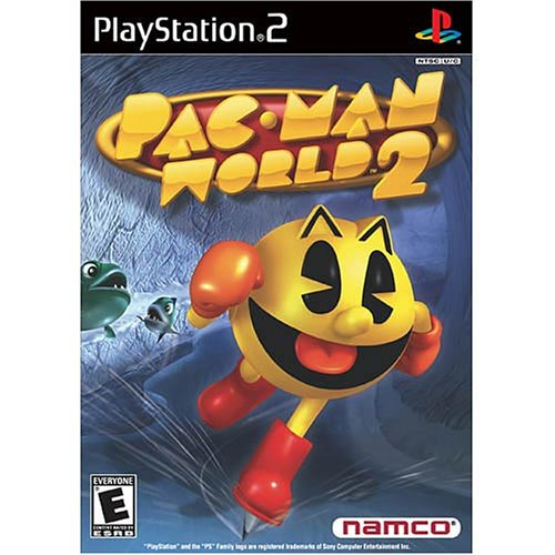 PS2 PAC MAN WORLD 2 BL (Pacman World 2 Ps2)