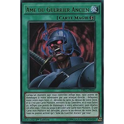 "Carte Yu-Gi-Oh! ""Ame du Guerrier Ancien"" DRL3-FR047 - VF/ULTRA RARE"