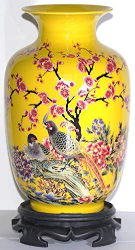 Yellow Porcelain Vase 9