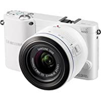 Samsung NX1000 20.3 Megapixel Mirrorless Camera (Body with Lens Kit) - 20 mm - 50 mm - White Basic Facts Review Image