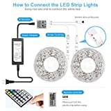 DAYBETTER Led Strip Lights 32.8ft Waterproof
