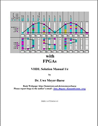 amazon com dsp with fpgas vhdl solution manual first edition rh amazon com Physics Solutions Manual Math Solution Manual