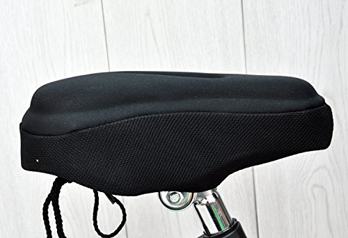AISHEMI Children's Gift Bike Saddle Soft Pad Breathable Soft Comfortable Cycling Kids Bike Saddle Gel Seat Cushion Pad Cover 9''x6'' for Most Children Bicycle Tricycle Banlance Bike Saddle by AISHEMI (Image #5)