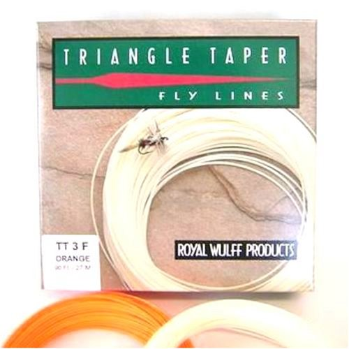Royal Wulff Triangle Taper Fly Line Ivory 8F