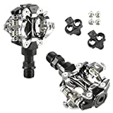 Venzo Shimano SPD Compatible Mountain Bike Sealed Pedals Cleats