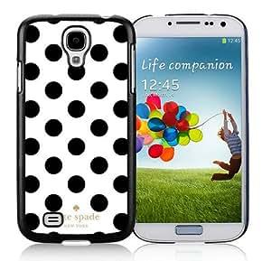 DIY Hot Sale Samsung Galaxy S4 Case,Kate Spade 293 Black New Design Samsung Galaxy S4 I9500 Phone Case
