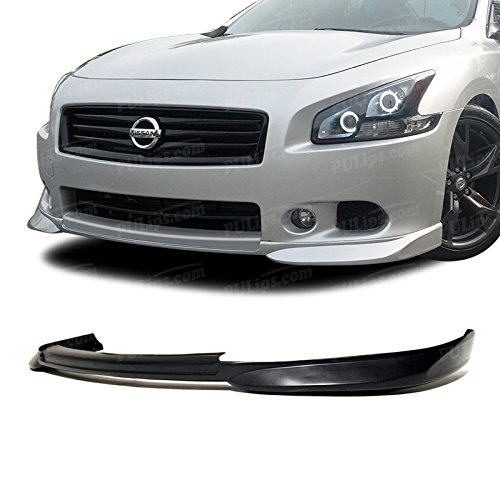 PULIps NSMX09STLFAD - Sleek Style Front Bumper Lip For Nissan Maxima 2009-2014