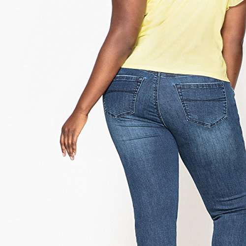 Castaluna Donna Jeans Slim Blu Stone 6W1T67S