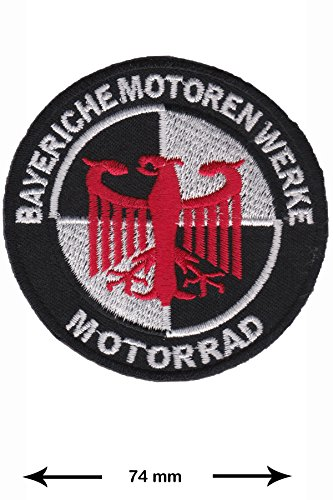 Patch - BMW - Bayeriche Motoren Werke - Cars - Motorsport - Racing Car Team - Iron on Patch - Embroidered Patches - Applique - Sign - Badge - Costume - Gift - Patch555
