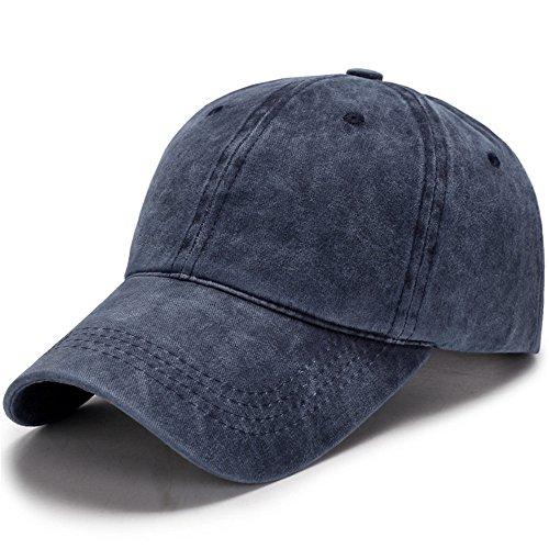 Algodón Gorra De Béisbol De Hombre Una Lavado Lengua Azul Ocio Hat Sombrero Lady Y Pato De Viejo Cap Eyzr Un Verano BP870qv