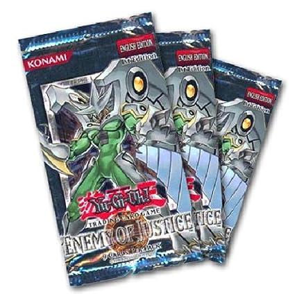 Amazon.com: Yu-Gi-Oh Enemigo de la Justicia: Toys & Games