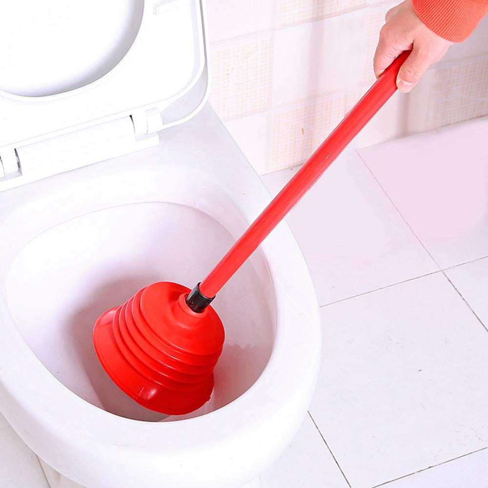 Toilet Plunger, SUJING Bathroom Toilet Bowl Plunger Powerful Multi Drain Plunger