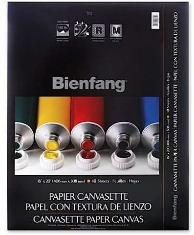 Bienfang Canvas (Bienfang Canvasette Paper Canvas (12 In. x 16 In.) 1 pcs sku# 1830478MA)