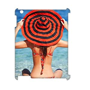 LZHCASE Diy Cover Custom Case Bikini For IPad 2,3,4 [Pattern-1]