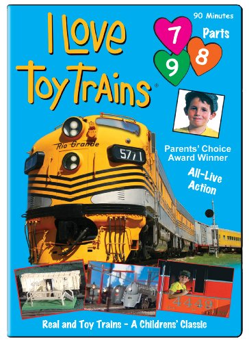 I Love Toy Trains, Parts 7-9 - Love Toy Trains Store