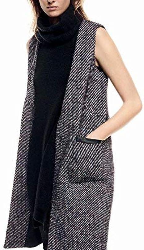 Guarda la ropa Chaleco Discriminar  Liu Jo Maxi Gilet Donna, Lana: Amazon.it: Abbigliamento