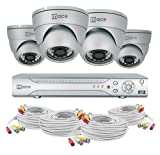 Mace Security MVK-SQ8CH4CAMD MaceView SQ80 and 4 Cam IR Dome System Kit