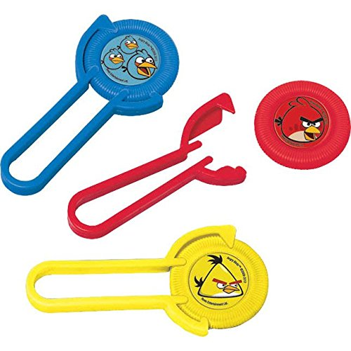 Angry Birds Disk Launchers / Favors (12ct) -
