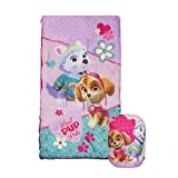 Paw Patrol Girls Sleeping Bag with Carry Sling