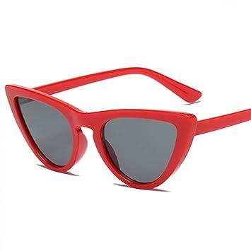 KLXQW Gafas De Sol Mujer Espejo Cateye Gafas De Sol De Moda ...