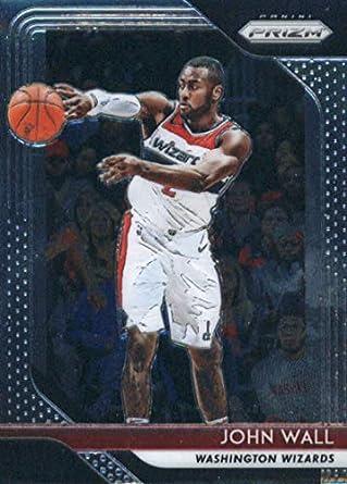 0934b7ccc7b 2018-19 Panini Prizm Basketball  223 John Wall Washington Wizards Official  NBA Trading Card