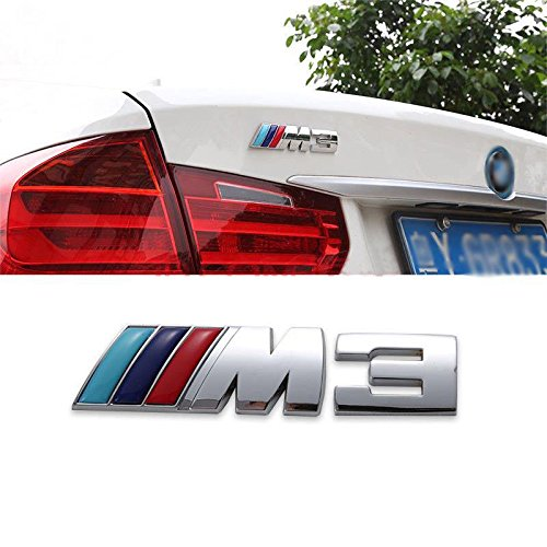 BMW M3 Letter Emblem Badge 3D Sticker from JD PARTS LLC