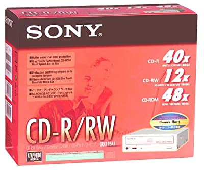 SONY CRX195A1 40x / 12x / 48x CD-RW Drive by Sony