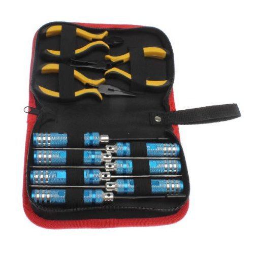 Repair Tool Set - SODIAL10 in 1 RC Helicopter Screwdrivers P