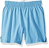 Soffe MJ Big Girls New Low Rise Short, Whisper Blue Extra Large