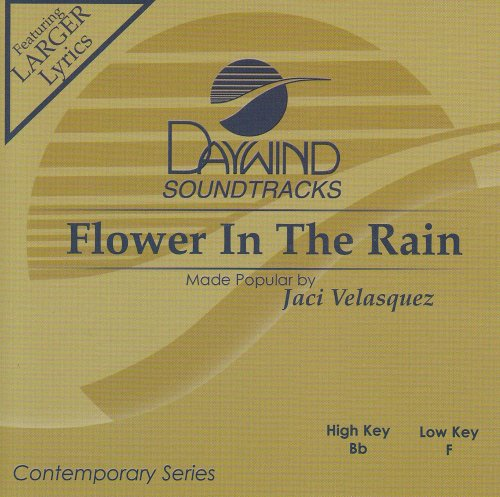 Rain Accompaniment Cd - Flower In The Rain [Accompaniment/Performance Track]