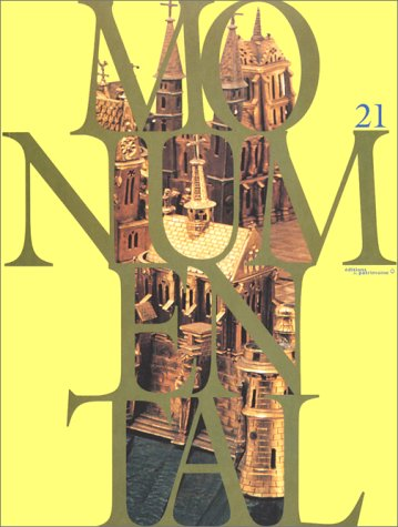 Monumental n°21. Maquettes d'architecture (French Edition)
