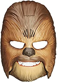 Star Wars Movie Roaring Chewbacca Wookiee Sounds Mask, Funny GRAAAAWR Noises, Sound Effects, Ages 5 and up, Brown (Amazon Ex
