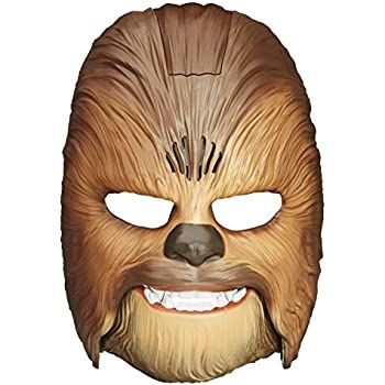 Star Wars Movie Roaring Chewbacca Wookiee Sounds Mask, Funny GRAAAAWR Noises, Sound Effects, Ages 5 and up, Brown (Amazon Exclusive)